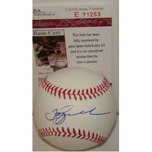 Jeff Bagwell SIGNED MLB Baseball JSA ASTROS: Sports