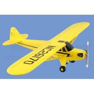 Mini Piper J 3 Cub Aircraft Model Mahogany Display Model