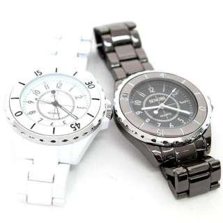 fashion lady Man couple dress style sinobi White Tungsten Quartz wrist