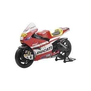 NEW RAY TOYS 112 MOTO GP DUCATI VALENTINO ROSSI REPLICA