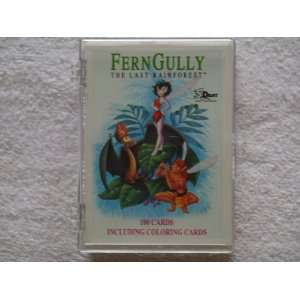 Fern Gully the Last Rainforest Trading Cards.