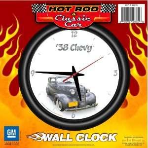 1938 Chevy Sedan 12 Wall Clock   Chevrolet, Hot Rod