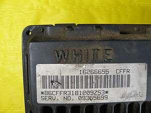 TRUCK ENVOY SUBURBAN TAHOE ENGINE COMPUTER ECM ECU PCM 09355699