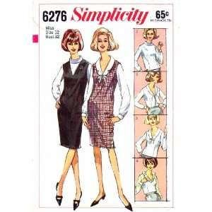 Sewing Pattern Blouse & Jumper Size 12 Bust 32: Arts, Crafts & Sewing