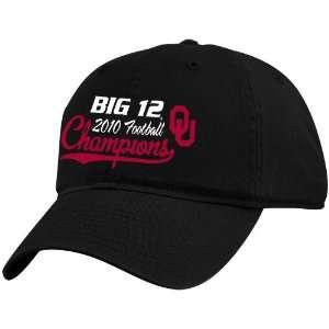 Top of the World Oklahoma Sooners Black 2010 Big 12