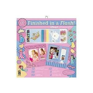 Finished In A Flash Page Kit 12X12   Disney Princess Arts