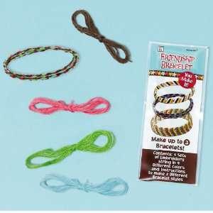 Lets Party By Amscan Hippie Chick Friendship Bracelet Kits