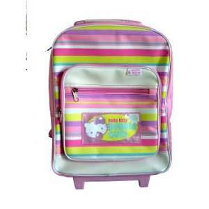 Sanrio Hello Kitty Bubble Gum Rolling Backpack / Luggage