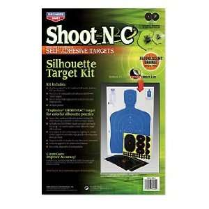 Silhouette (2) (Targets & Throwers) (Paper Targets) Everything Else