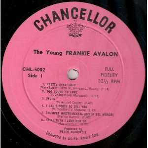 com The Young Frankie Avalon (Original Release Frankie Avalon Music