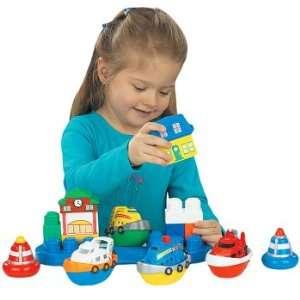 Mega Bloks Tiny N Tuff Marina Set Toys & Games