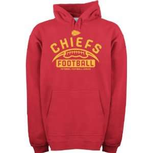 Kansas City Chiefs  Red  Gym Issue Hooded Sweatshirt