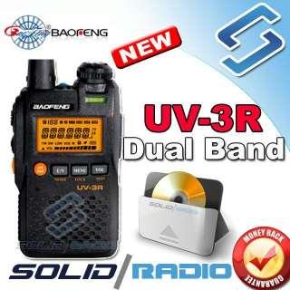 BaoFeng UV 3R dual band mini radio + USB program cable