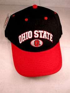 Ohio State Buckeyes Flex Fit Cap Hat DB Brand