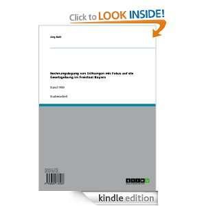 mit Fokus auf die Gesetzgebung im Freistaat Bayern (German Edition