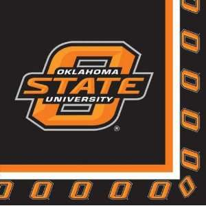 Oklahoma State OSU Cowboys Lunch and Dinner Paper Napkins