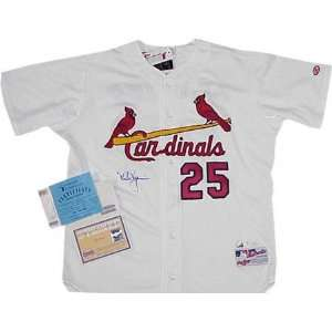 Mark McGwire St. Louis Cardinals Autographed White Jersey