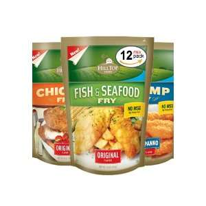 Seafood, and Crispy Panko Fry, 4, 10 Ounce Packs of Each (Case of 12