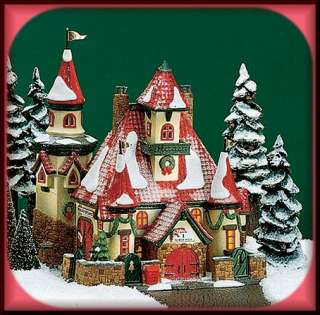 Route 1, North Pole Home Of Mr Mrs Claus Dept 56 D56 NP