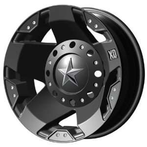 XD XD775 16x6 Black Wheel / Rim 8x6.5 with a  99mm Offset