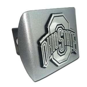 Ohio State University Buckeyes Brushed Silver with Chrome O Ohio