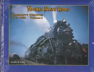 Railroad Book, Nickel Plate Road, Publicity Photos, 1943 1952 Volume 1