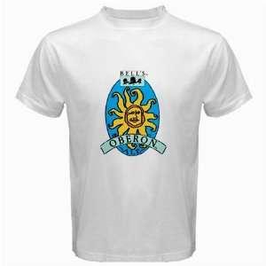 Bells Oberon Beer Logo New White T Shirt Size  S, M ,L