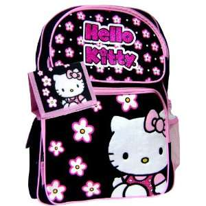 Hello Kitty White Flowers Backpack Matching Wallet Toys