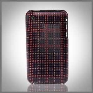 Pink & Purple on Black Glitterati glitter bling case