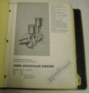 Caterpillar 1972   1981 Motor Grader Service Manual Lot