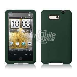 VMG Dark Green Premium High Quality Soft Gel Silicone Rubber Skin Case