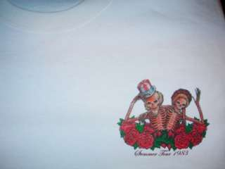 Grateful Dead T Shirt  VTG Style  1983 Summer Tour