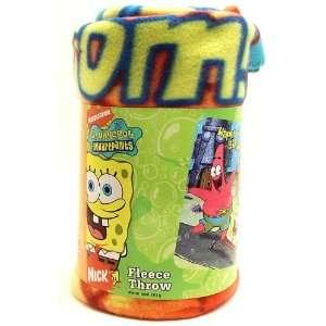 Nickelodeon SpongeBob SquarePants Fleece Throw Blanket