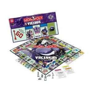 Minnesota Vikings NFL Team Collectors Edition Monopoly Toys & Games