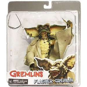 NECA Gremlins Series 1 Action Figure Flasher: Toys & Games