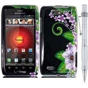 PINK FLOWER GREEN LEAF Premium Design Protector Hard Cover