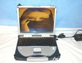 Panasonic TOUGHBOOK CF 28 LAPTOP TOUCHSCREEN USB CDROM Back Light