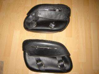 Harley Davidson Fatboy detachable saddle bags