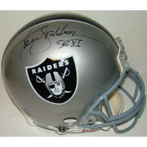 Ken Stabler SIGNED Proline Game Full Size Helmet Sports