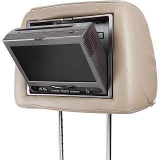 Audiovox MMD7HRPKG Dual 7 Headrest Monitors with a DVD Player