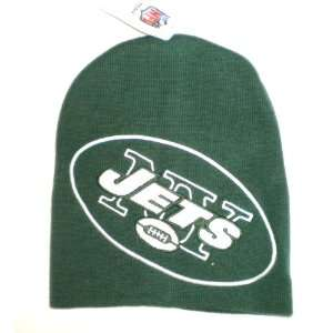 New York Jets NFL Large Logo Beanie Toque Skull Hatt: Everything Else