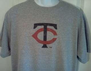 Minnesota TWINS 1960s Throwback Logo T Shirt XXL