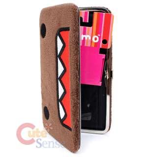 Domo Kun Plush Hinge Wallet   Check Book Flat Wallet  Licensed
