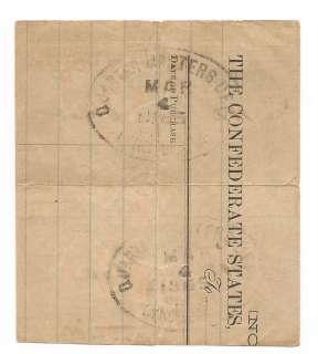 Confederate Railroad Passes Richmond and Danville Southside Virginia