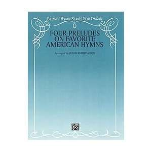 Four Preludes on Favorite American Hymns Book Sports