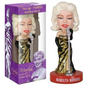 Marilyn Monroe Singer Bobble head Toys & Games
