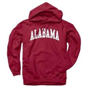 Alabama Crimson Tide Adult Classic Arch Hoody Sports