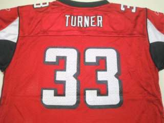 NFL Reebok Atlanta Falcons Michael Turner Youth On Field Team Jersey