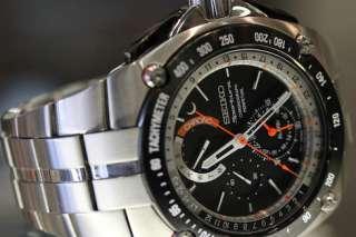New Seiko Mens Sportura Chronograph Alarm Watch SPC047 SPC047P1