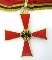 GERMAN ORDER KNIGHT COMMANDER CROSS BUNDES MEDAL MERIT»